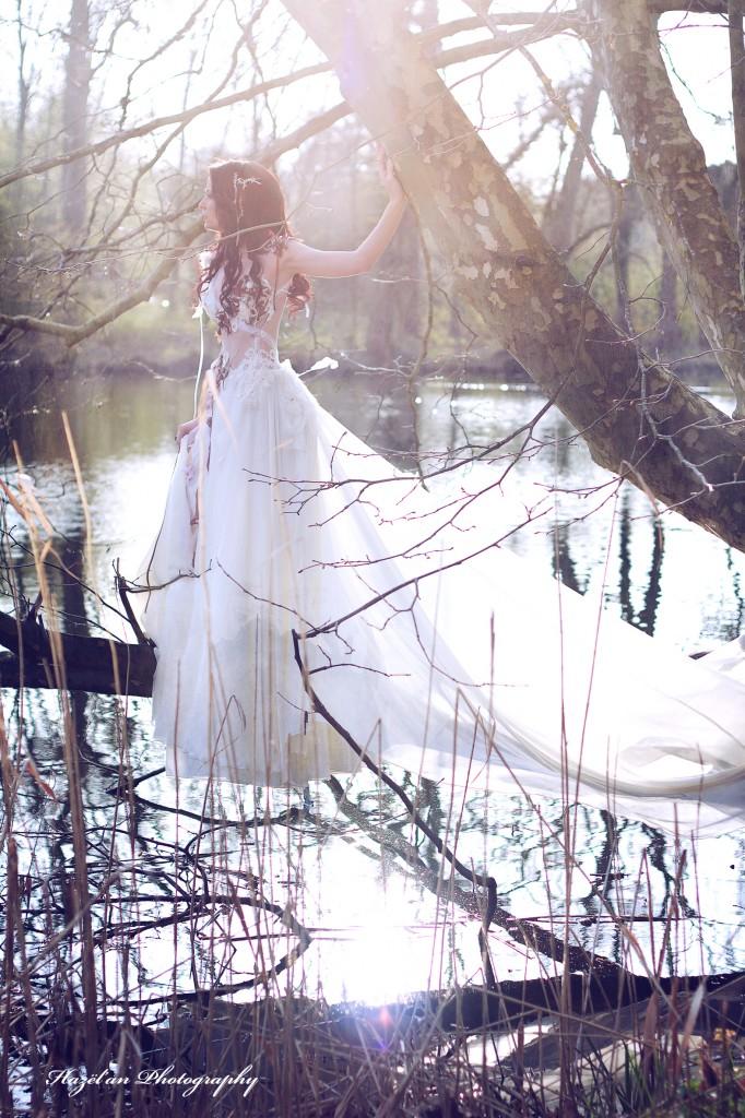 Robe de mariée féerique sur-mesure - Bordeaux