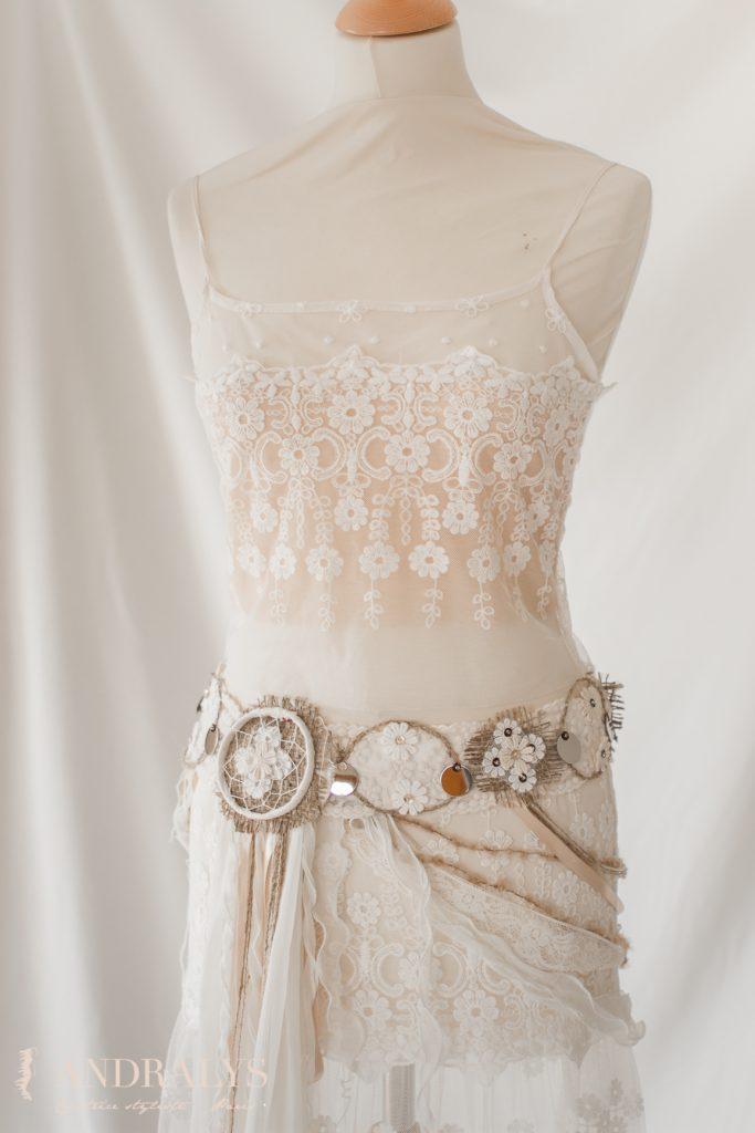 Robe de mariée tribale Bordeaux