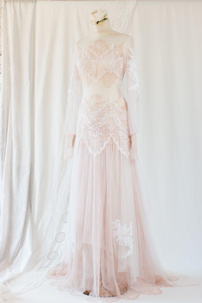 robe de mariée féerique sur mesure à Bordeaux